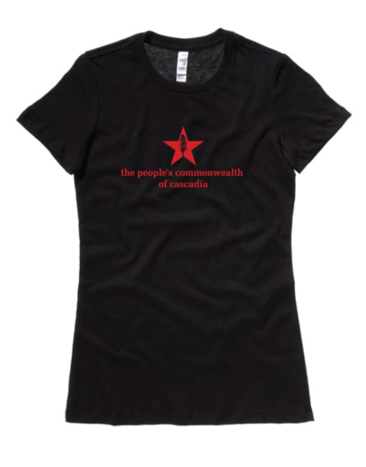 the people's commonwealth of cascadia misses t-shirt