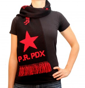 the people's republic of portland jacquard knit scarf