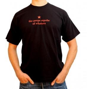the peeps repubs of whatevs men's black t-shirt