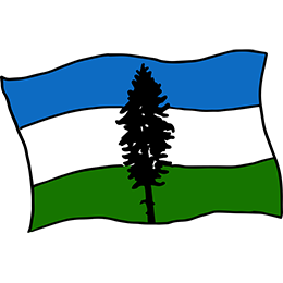 Cascadia Flag - SOLD OUT!